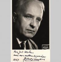 Robert Casadesus Portraitfoto