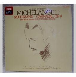 Arturo Benedetti Michelangeli, Klavier..
