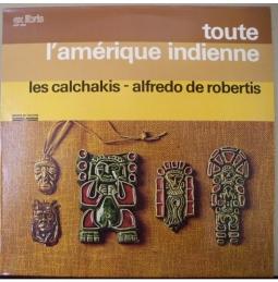 Volksmusik Südamerikas - 4 LP's