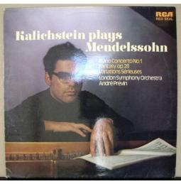 Joseph Kalichstein - André Previn