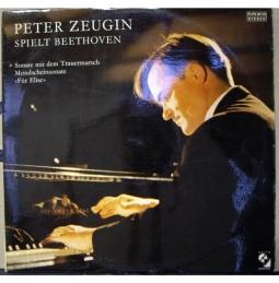 Peter Zeugin  spielt Beethoven